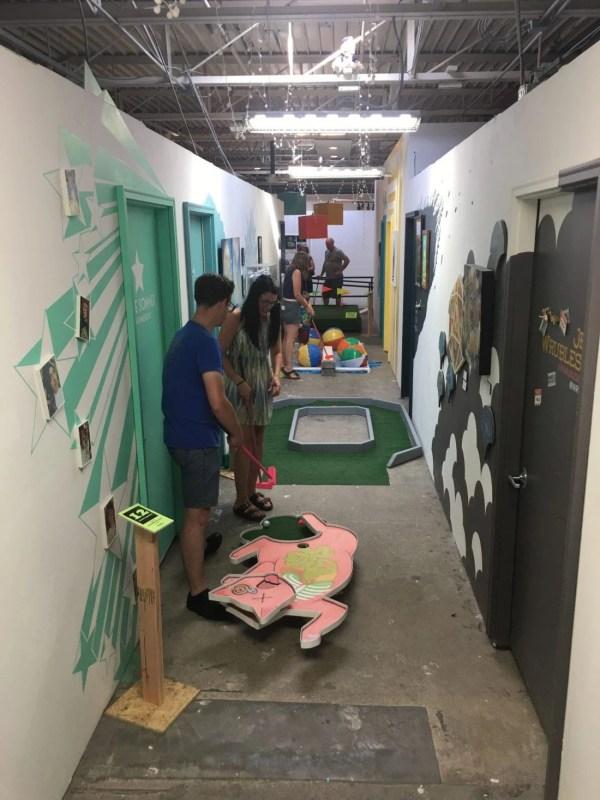 Blockfort Hosting Art-inspired 18-hole Mini Golf Exhibit