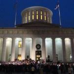 Ohio Statehouse Virtual Tree Lighting
