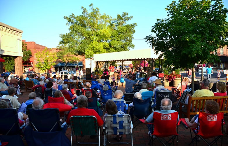 Grove City Summer Sizzle Concert Series On Fridays