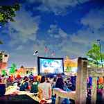 Catch free Movies by Moonlight at Easton Town Center; tba for 2020