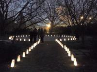OSU Chadwick Arboretum Winter Solstice Labyrinth Walk