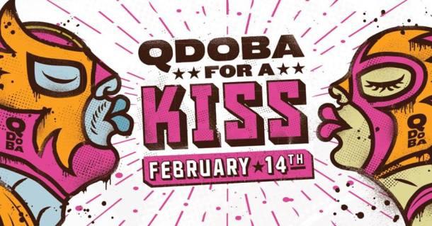 BOGO free entrée at Qdoba