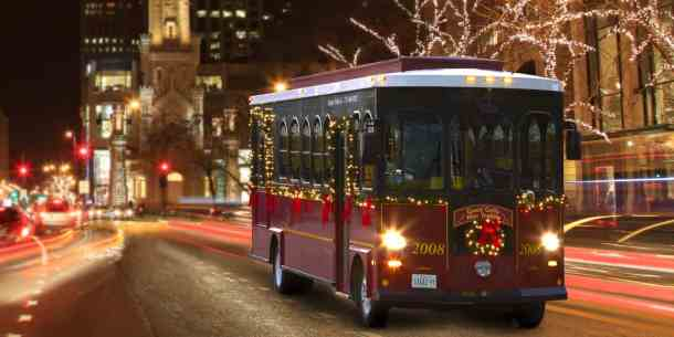 Byob Christmas Light Trolley 2020 Book a private BYOB Holiday Lights Trolley for Columbus
