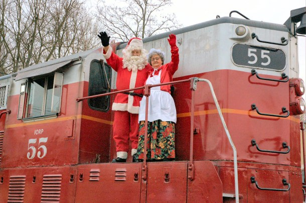 RSVP now! Polar Express, Santa Trains, and Holiday Train Rides in Ohio