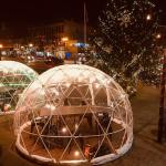 Safe Outdoor Dining: Igloos, heated patios, and more
