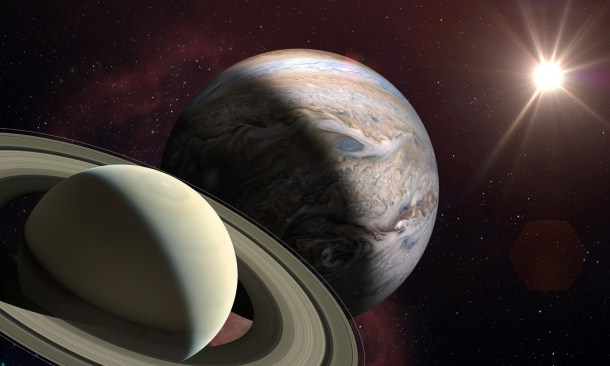 planets great conjunction astronomy