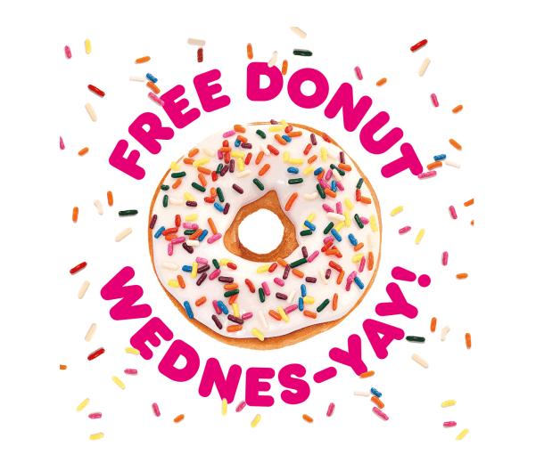 free Dunkin' donut