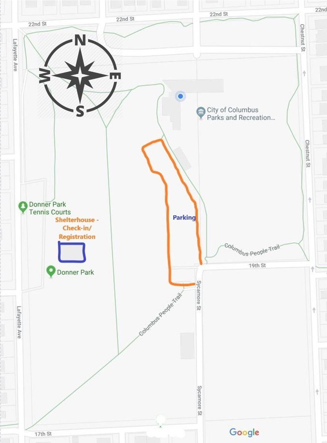 Duke Parking Lot Map | Wiring Diagram Database