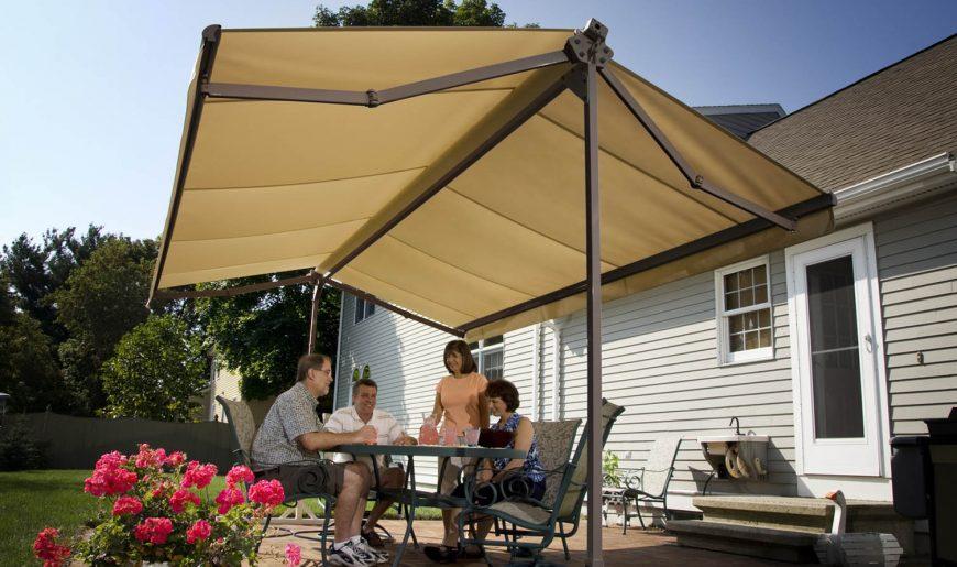 freestanding awnings awning varieties