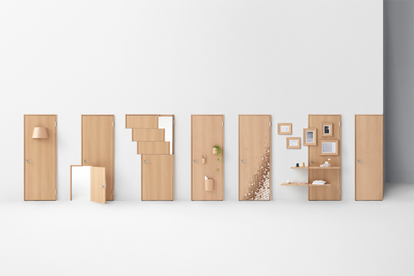 Seven Doors by nendo