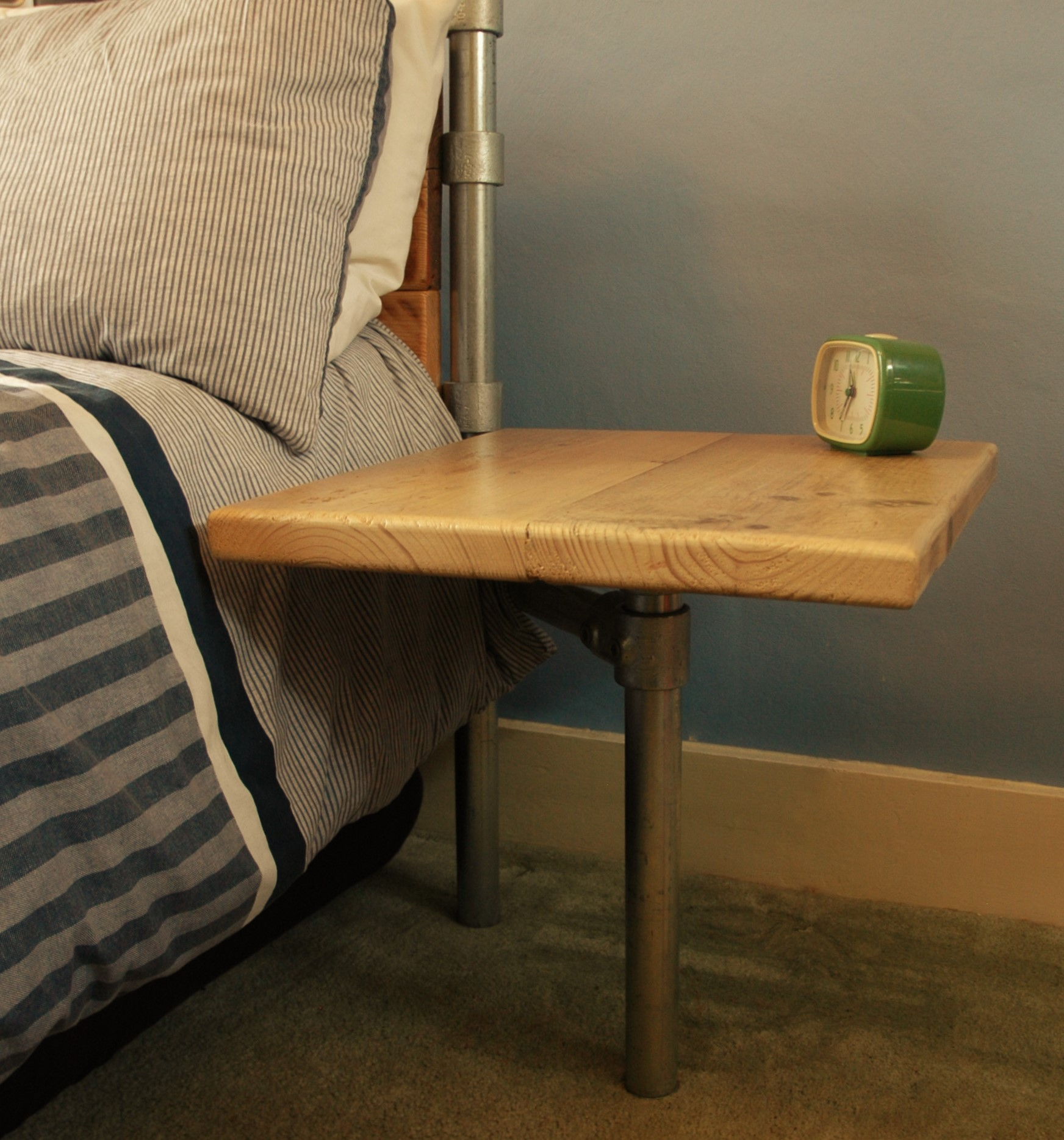 Cantilever Bed Side Table Colwill and Co