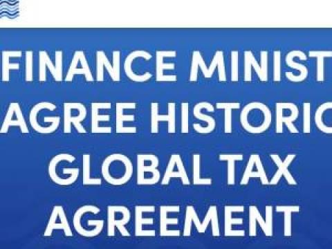 G7-Finanzminister einigen sich auf weltweite Digitalsteuer