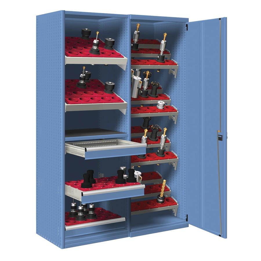 Armarios de puertas batientes para herramientas CNC