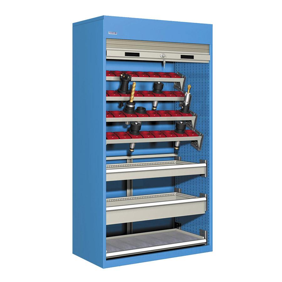 Armarios de puerta de persiana para herramientas CNC