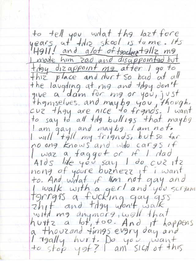 Terre Thaemlitz  Writings  I Once Got In Trouble