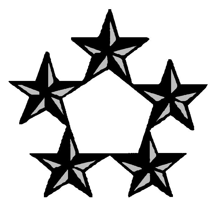 Image result for general of the army insignia