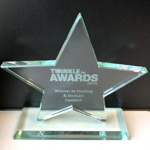 combell twinkle award hosting & domain