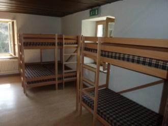 Petit dortoir de 12 places