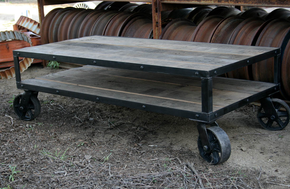 Combine 9  Industrial Furniture  Coffee Table
