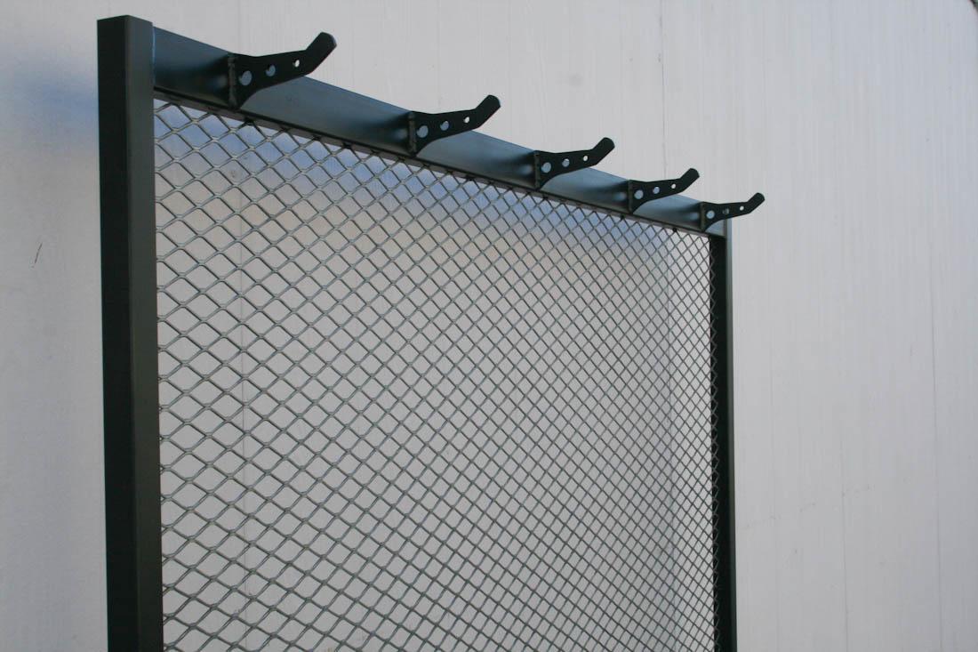 Industrial Coat Rack with Bench  Combine 9  Industrial