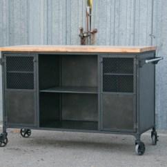 Modern Kitchen Cart New Appliances Combine 9 Industrial Furniture Island
