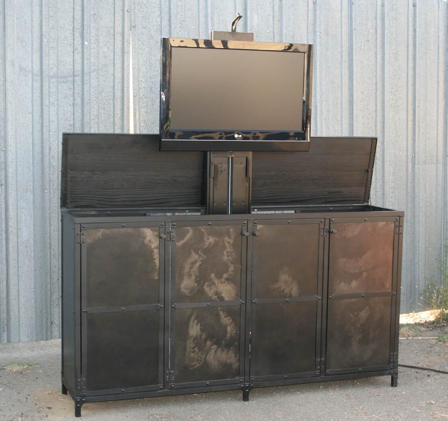 Combine 9  Industrial Furniture  Industrial Motorized TV
