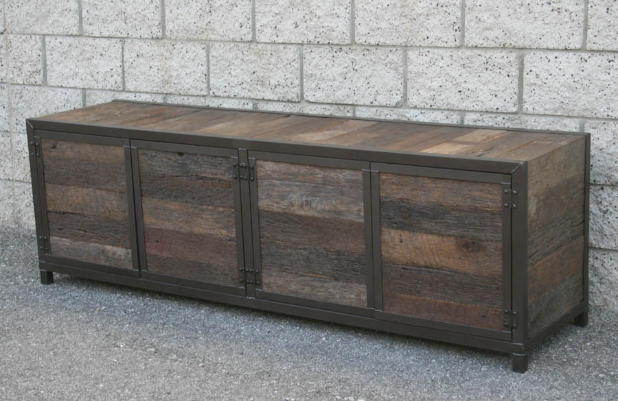 kitchen buffet hutch cherry cabinets combine 9 | industrial furniture – handmade rustic media ...