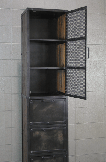 Combine 9  Industrial Furniture  Industrial CabinetPantryCupboard