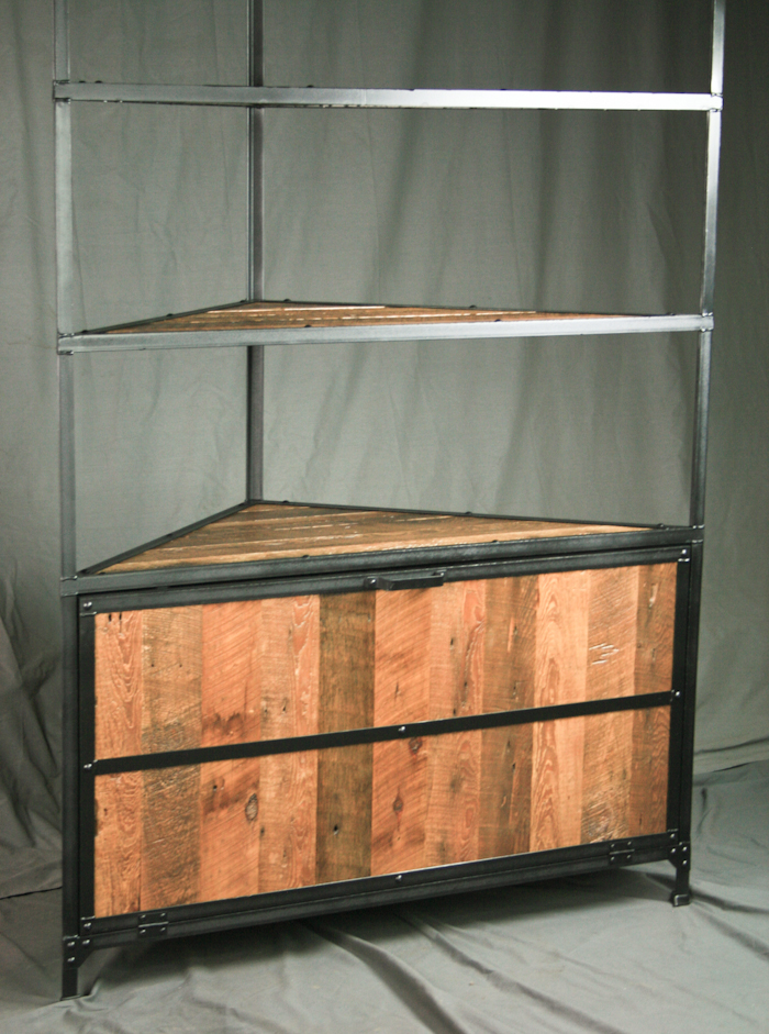 corner upper kitchen cabinet discount supplies combine 9 | industrial furniture – rustic ...