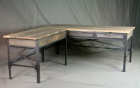 Combine 9 | Industrial Furniture  Industrial L-Shaped ...