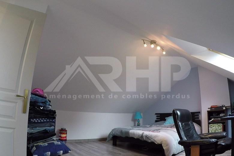 Chambre sous combles - RHP Combles Hauts-de-France