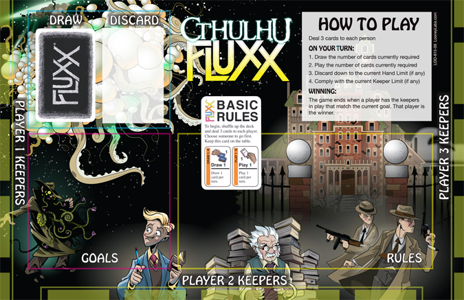 444-Looney-CthulhuFluxx-playmat