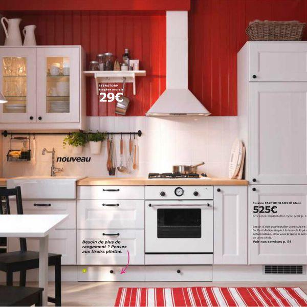 Cuisine Ikea Faktum Abstrakt Blanc Tout Sur La Cuisine Et