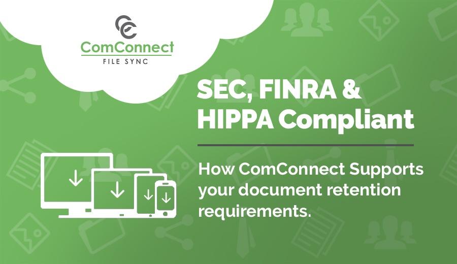 SEC FINRA HIPPA Compliant