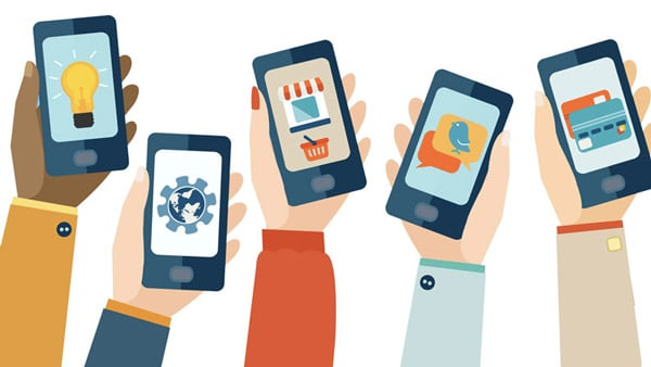 Utilisation multiple de smartphones