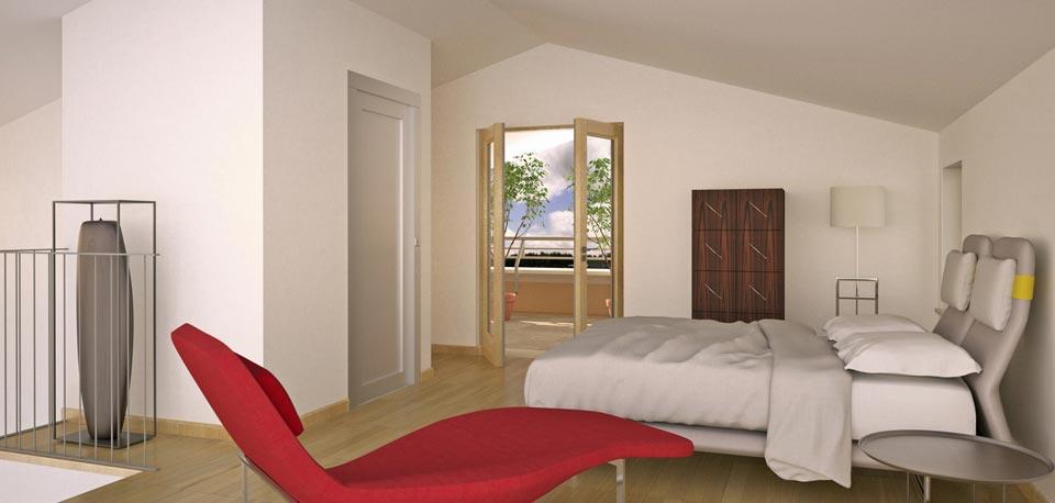 Come arredare una camera da letto in mansarda  I consigli sullarredo di comearredareit