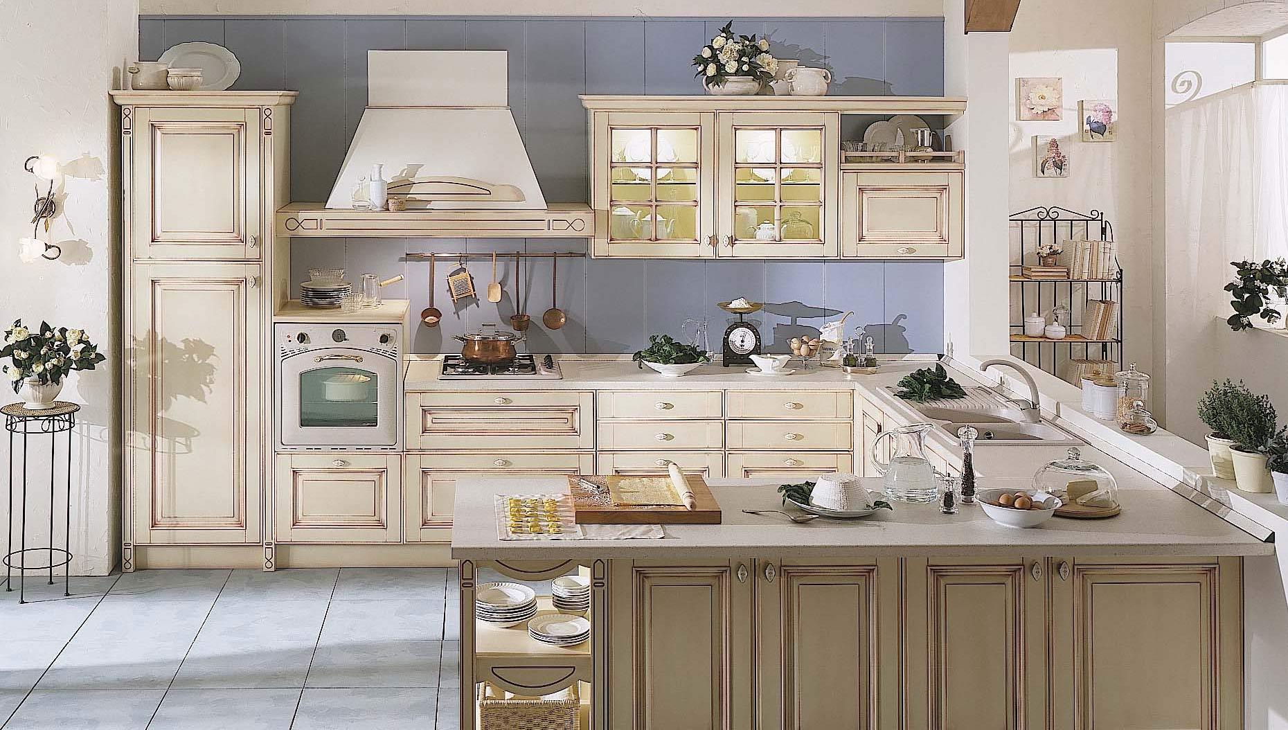 Come Arredare Una Cucina Classica. Good Idee Per Le Pareti Della ...