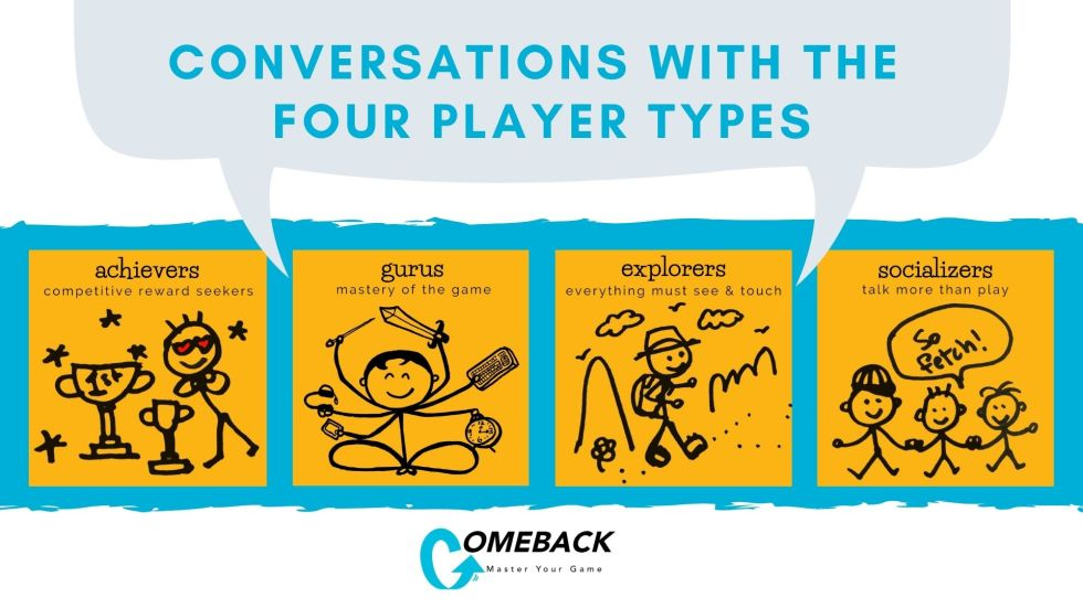 Conversations with the Four Player Types
