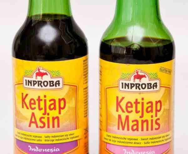 salsa de soya soya indonesia