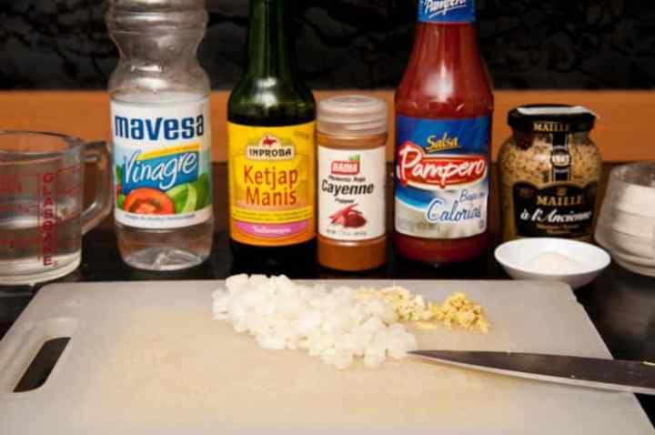 ingredientes para bbq asiatica