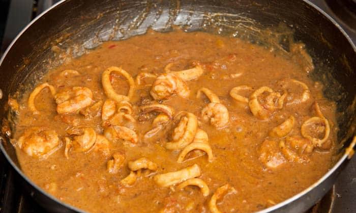 curry casi listo