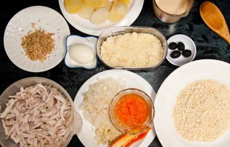 ингредиенты рецепта курицы aji