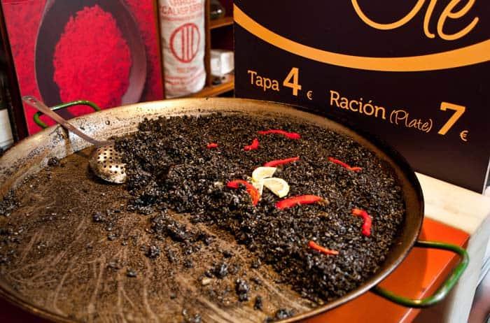 arroz negro mercado san miguel