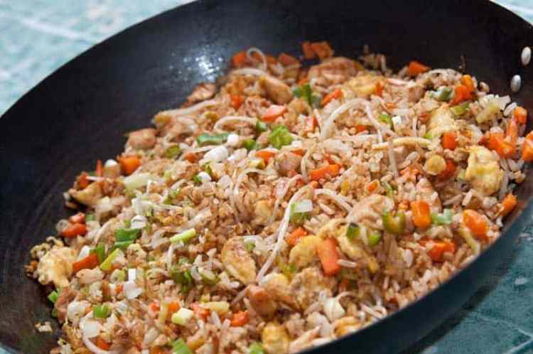 recetas de arroz chino