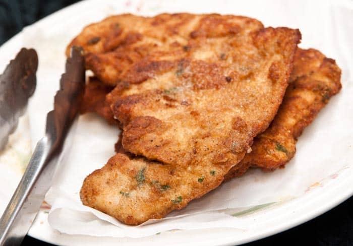 как сделать идеальную курицу milanesa