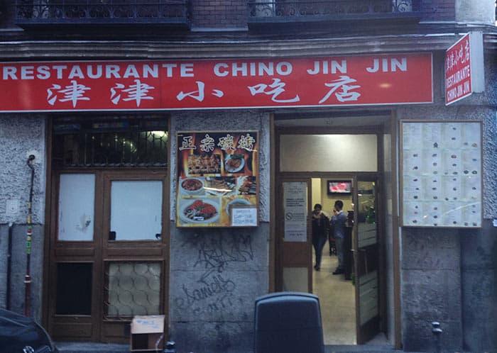 restaurante jin jin madrid