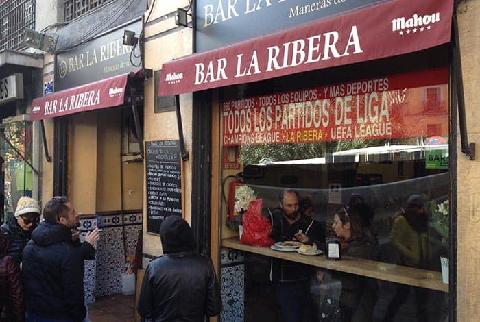 bar la ribera la latina madrid