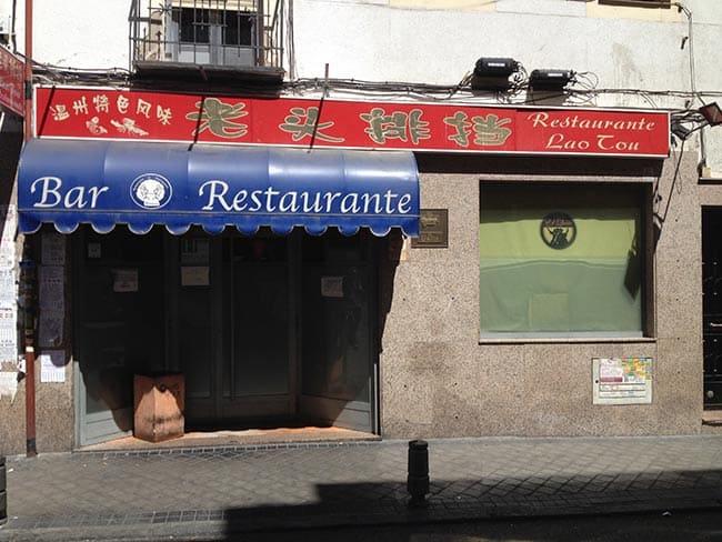 restaurante lao tou madrid usera