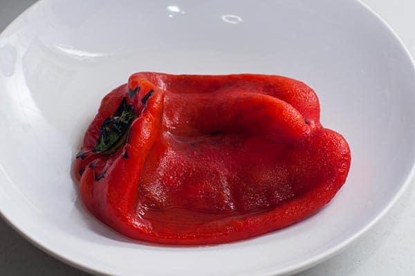 pimientos rojos rellenos