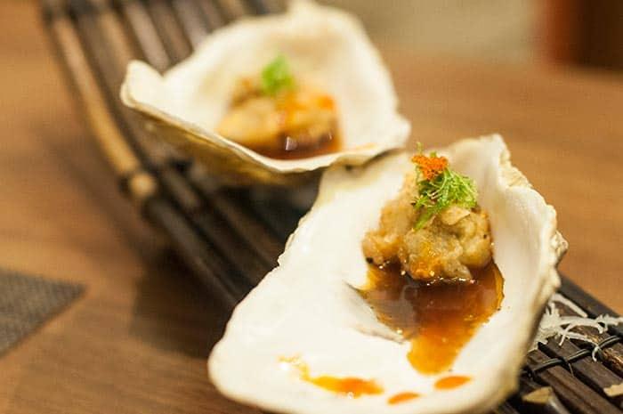 ostras tempurizadas ikigai
